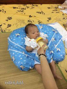 Gối chống trào ngược, chống ọc sữa hiệu quả cho trẻ sơ sinh