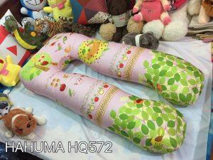 Gối kê bụng bầu chữ u vải Hàn Quốc Hahuma mã HQ572