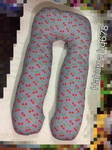 Gối bà bầu giá rẻ vải Hàn Quốc Hahuma HQ678