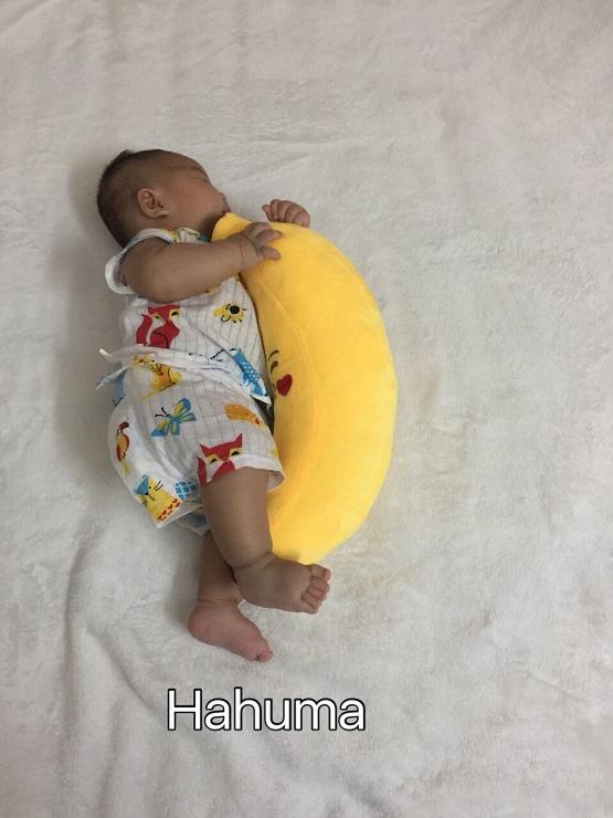 Quà tặng cho bé đầy tháng là gối ôm quả chuối tí hon