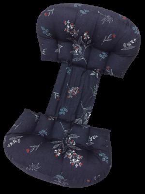 Gối chặn cho bà bầu cánh bướm Hahuma thiết kế đai rộng 22cm giúp cho mẹ bầu bụng to đủ để nằm ngửa, nằm nghiêng. Đồng thời với độ rộng này thì gối có thể sử dụng làm gối chặn cho bé sơ sinh được. Gối thiết kế riêng của Hahuma có độ to 5 múi, khác hẳn với gối trên thị trường chỉ có 4 múi