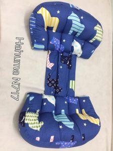 Gối kê cho bà bầu Hahuma N717 vải Hàn Quốc