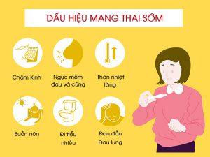 Những dấu hiệu mang thai sớm trong tuần đầu tiên chính xác